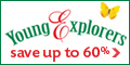 Save Up to 60% at Young Explorers