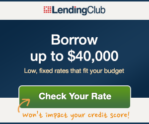 Borrow money with Lending Club