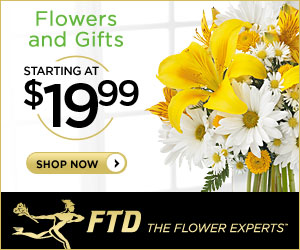 Summer Flowers and Gifts starting at $19.99 300 x