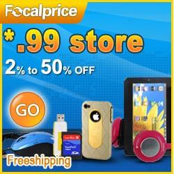 *.99 store, Up to 15% OFF at focalprice.com