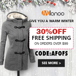 give you a warm winter top seller outerwears 30%off free shipping on orders over $99