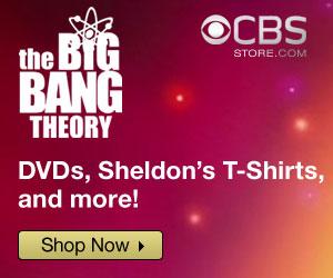 Big Bang Theory T-Shirts & Gear at the CBS Store