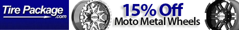 15% Off Moto Metal Wheels