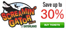 Screamin Gator Zipline - Save up to 30%!