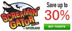 Screamin Gator Zipline - Save up to 30%!