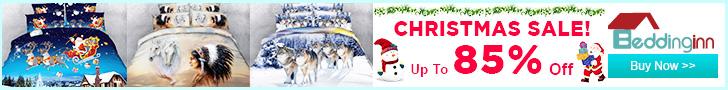 Up to 85% Off Christmas Sales at Beddinginn.com!