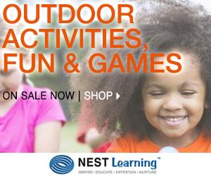 Outdoor Fun + Activities at NestFamily.com