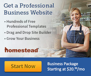 Homestead Websites - Build a Business Website, Try It Free