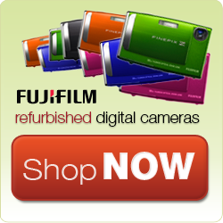 Fujifilm Certified Refurbished Digital Cameras.
