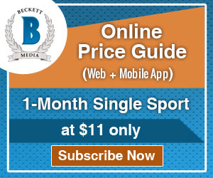Get 1 Month Single Sports Online Price Guide (Web + iOS) Subscription for $11