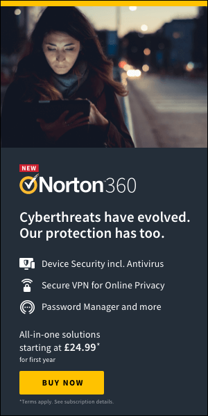 Norton360 by Symantec 300x600