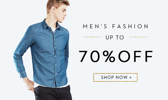 Up to 70% OFF Men's Fashion - Free Shipping World Wide Twinkledeals