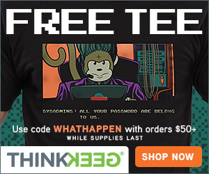 Thinkgeek coupon