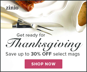 US/CA Thanksgiving Deals: 30% off Food & Wine Magazines