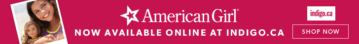 American Girl products now available at Indigo.ca!