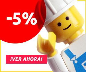 kidsroom.de - Descuento de 5% por el juguete de LEGO