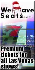 Las Vegas を含む全米のチケット売買サイト、コンサート充実