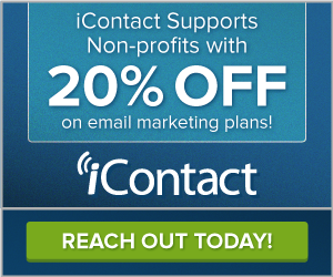 Non-Profits: Get 20% Off on iContact Email Marketing Plans