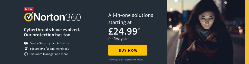 Norton360 by Symantec 970x250