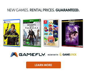 Signup for GameFly to get the latest PS4, Xbox, & Nintendo Switch games!