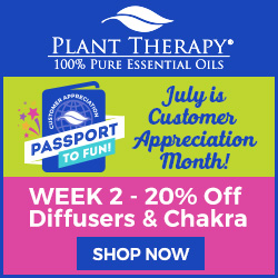 Get 20% Off Diffusers AND Chakra Products + FREE Gift with Your Purchase of $25 or More!