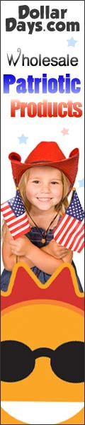 Wholesale Patriot Products For July 4th at DollarD