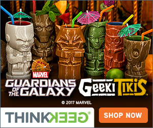 NEW! Guardians of the Galaxy Geeki Tikis!
