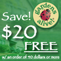 Free $20 off any order of $40 or more!