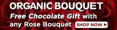 Free Chocolate Gift with Roses