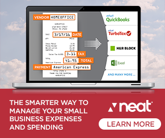 Image for Smarter SMB Expense Clouds Red 336x280