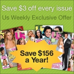 Us Weekly Magazine - only 99c an issue! Save 75%!