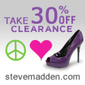 30% off Steve Madden Clearance + Free Shipping