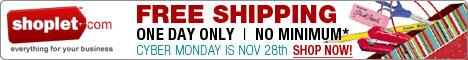 Free Shipping No Minimum Cyber Monday