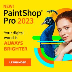 PaingShop Pro, photo editing software