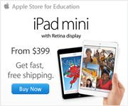 iPad mini. Every inch an iPad. Free engraving, plus fast free shipping.