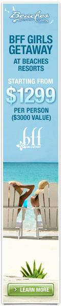 Save 40% at Beaches Resorts