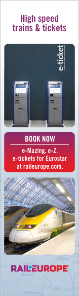 Book Eurostar from Rail Europe