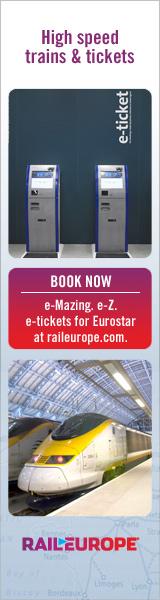 Book Eurostar from Rail Europe