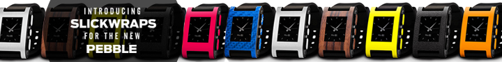 New Pebble Skins From SlickWraps