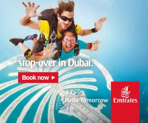 Emirates Airline Dubai Stopover Hotels Booking Transfers to City Centre Transit Passengers near Terminals 1 and 3