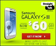 Samsung Galaxy S III - $60 Off