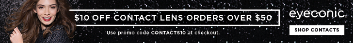 $10 off contact lens orders over $50