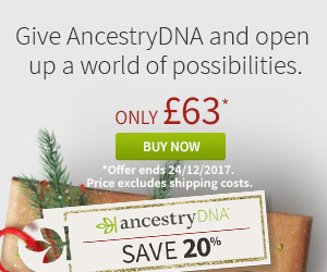 Ancestry DNA Xmas Offer
