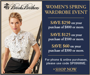 Brooks Brothers Spring Women's Wardrobe Event