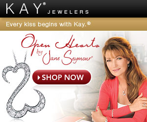 Open Hearts by Jane Seymour from Kay Jewelers - Every kiss begins with Kay.