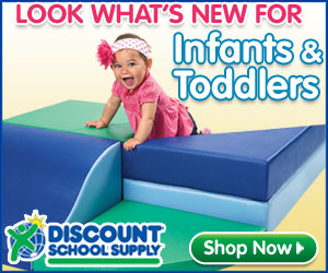 Free Shipping On Orders Over $79 On All Our New Products for Infants & Toddlers At DiscountSchoolSup