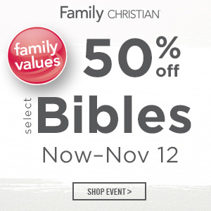 50% off Bibles