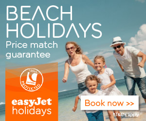 Beach holidays from easyJet holidays
