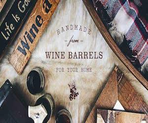 Handmade From Wine & Whiskey Barrels