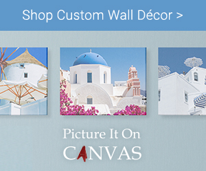 Shop Custom Wall Decor on Picture It On Canvas